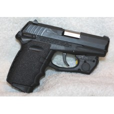SCCY 9MM Semi Auto CPX-1 Gen-2 Pistol, External Safety,  TR10 Laser, Holster
