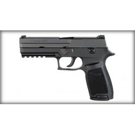 Sig Sauer P250 Full Size Black Semi Auto Pistol 17 Rounds, 1 Mag