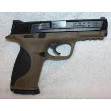 "Smith & Wesson M&P9 9mm 4.25"" Bar Black / FDE 10188"