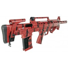 Garaysar Fear104 Red & Black Camo Fear 104 12 Gauge Bullpup