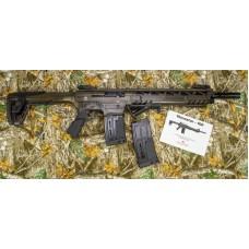 Monastor 102 Battle Worn Bronze Mag Fed Semi Auto 12 Gauge Shotgun, 2 Five Round Mags