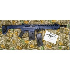 Monastor 102 NRA Blue Mag Fed Semi Auto 12 Gauge Shotgun, 2 Five Round Mags