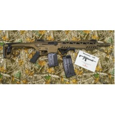 Monastor 102 Burnt Bronze Mag Fed Semi Auto 12 Gauge Shotgun, 2 Five Round Mags